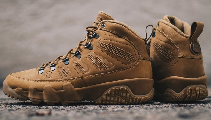7c9b20ee653 ... 'Wheat' Air Jordan 9 Retro Boot NRG for $45 OFF at $180 + FREE shipping!  BUY HERE -> http://bit.ly/2PUOHLI (use discount code  KICKS20Q4)pic.twitter.com/ ...