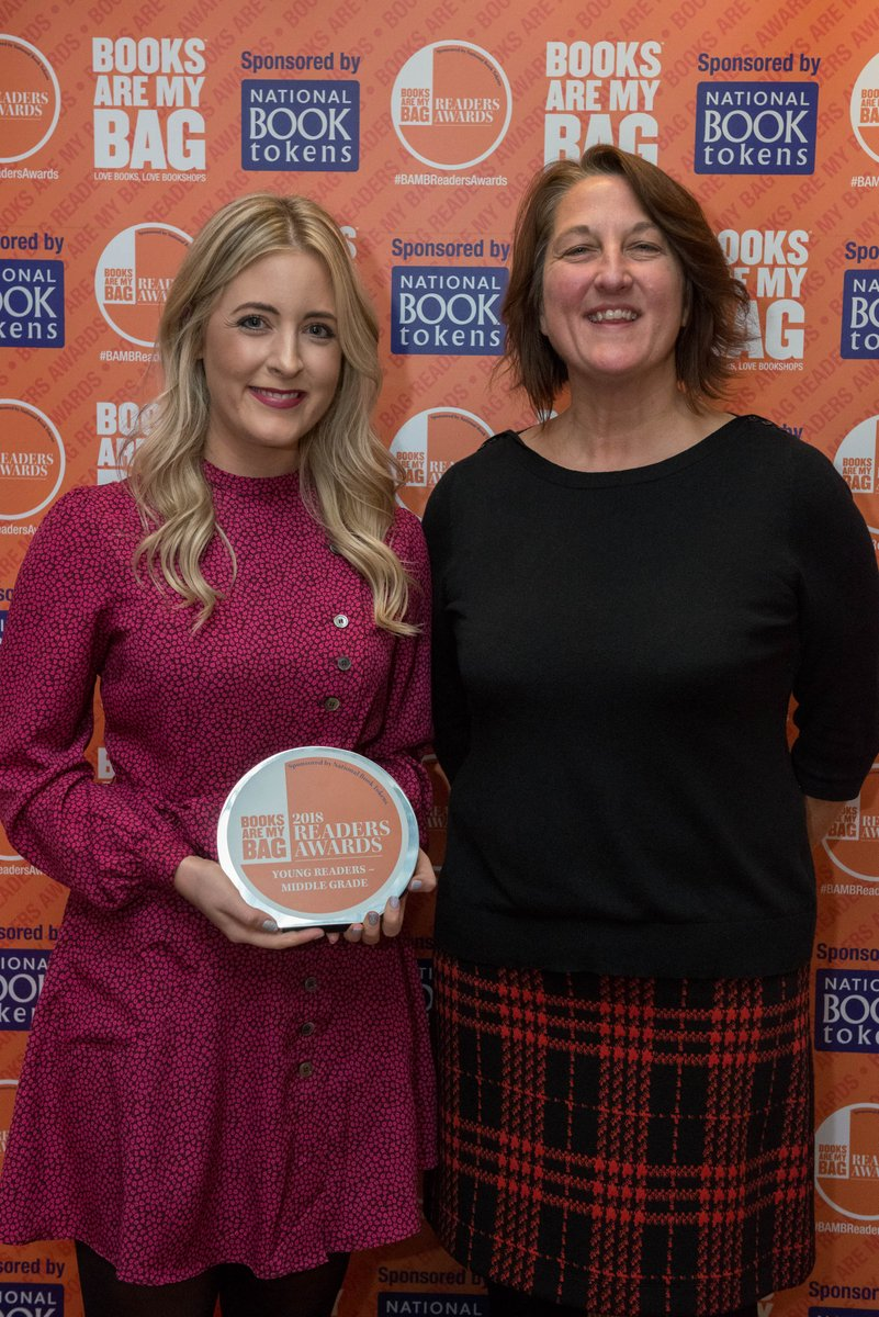 .@doyle_cat's The Storm Keeper's Island won in the Young Readers—Middle Grade category at last night's @booksaremybag awards: https://t.co/raOgl6HoPL