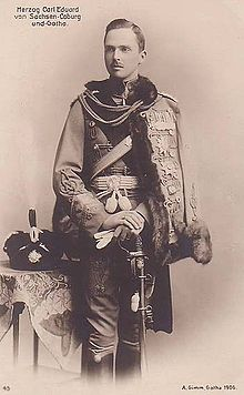 Nov 14, 1918 - Charles Edward, Duke of Saxe-Coburg and Gotha, announced he has 'ceased to rule' his throne (as opposed to formally abdicating), leading to the establishment of the Free State of Coburg #100yearsago