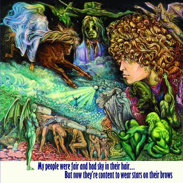#nowplaying Mustang Ford - Tyrannosaurus Rex - My people were fair and had sky in their hair... <br>http://pic.twitter.com/IDBGFaWdKH