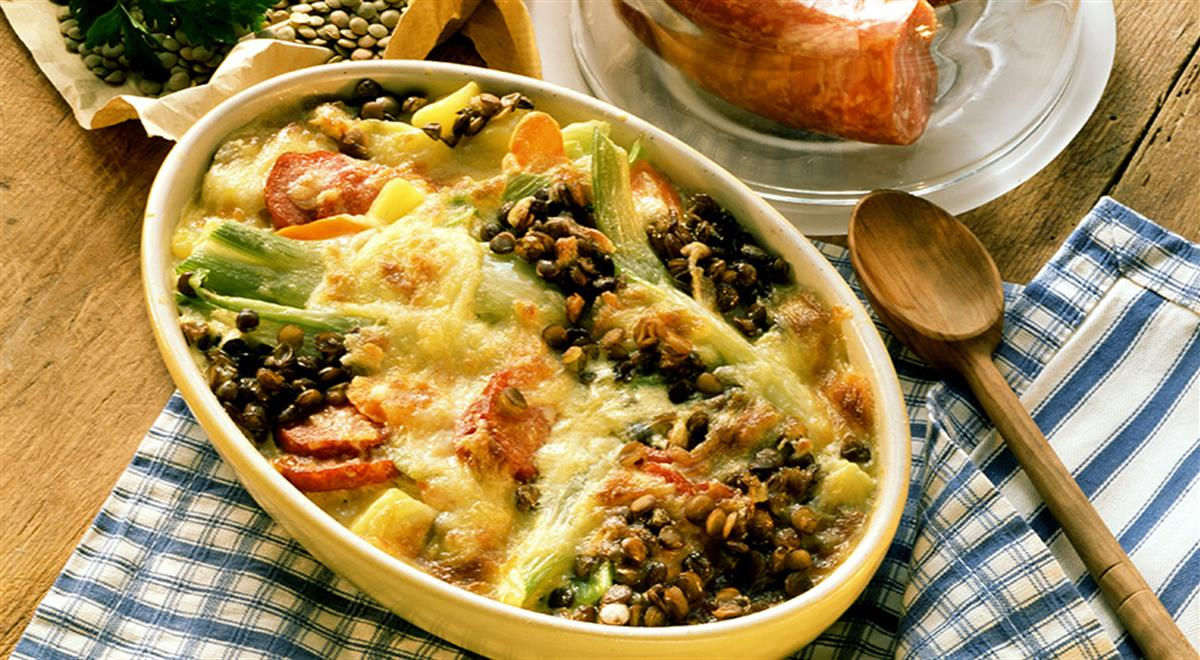 Lentil Bake with Vegetables and Sausage https://t.co/CaerpwFznL #yummy #food https://t.co/fhEw1FPRSz
