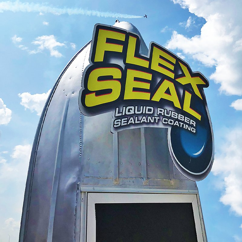 it s a bird it s a plane it s the flex seal boat if you re