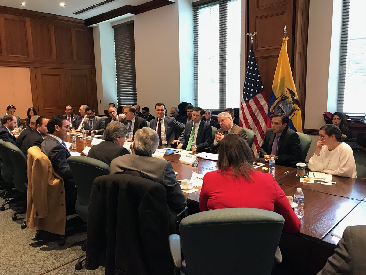 test Twitter Media - Today, with our partners @amchamgye, @amchamec & @ceecuatoriano we hosted a private sector convo on the margins of the U.S.-Ecuador Trade & Investment Committee meetings feat. DUSTR C.J. Mahoney @USTradeRep, Ecuadorian Min of Commerce @CampanaPablo, @AmbToddChapman & Amb. Carrion https://t.co/KgyUdublVp
