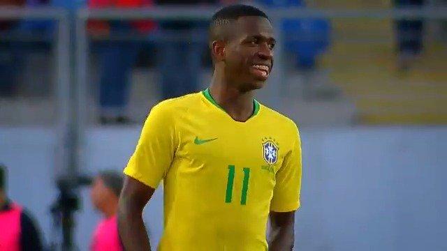 ⚽🇧🇷📺 RealMadrid TV emitirá EN DIRECTO el jueves desde las 19h00, el encuentro de la Brasil sub-20 de @vini11Oficial Jr. en su compromiso contra la selección de Colombia. #RMTV
