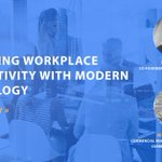 Join us tomorrow at 2 PM ET, with @serraview , to discover what the #digitalworkplace is + what steps you can take to create a space that excites your workforce! But first, register here: https://t.co/v3qoh0TE4W
