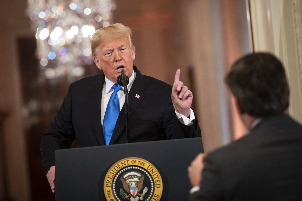 🔥 Story -->>  Trump Says Reporters Don't Have Right to Enter the White House      https://t.co/NbXK4SYCYl @davidvoreacos @AndyNewsNowInDC #tictocnews