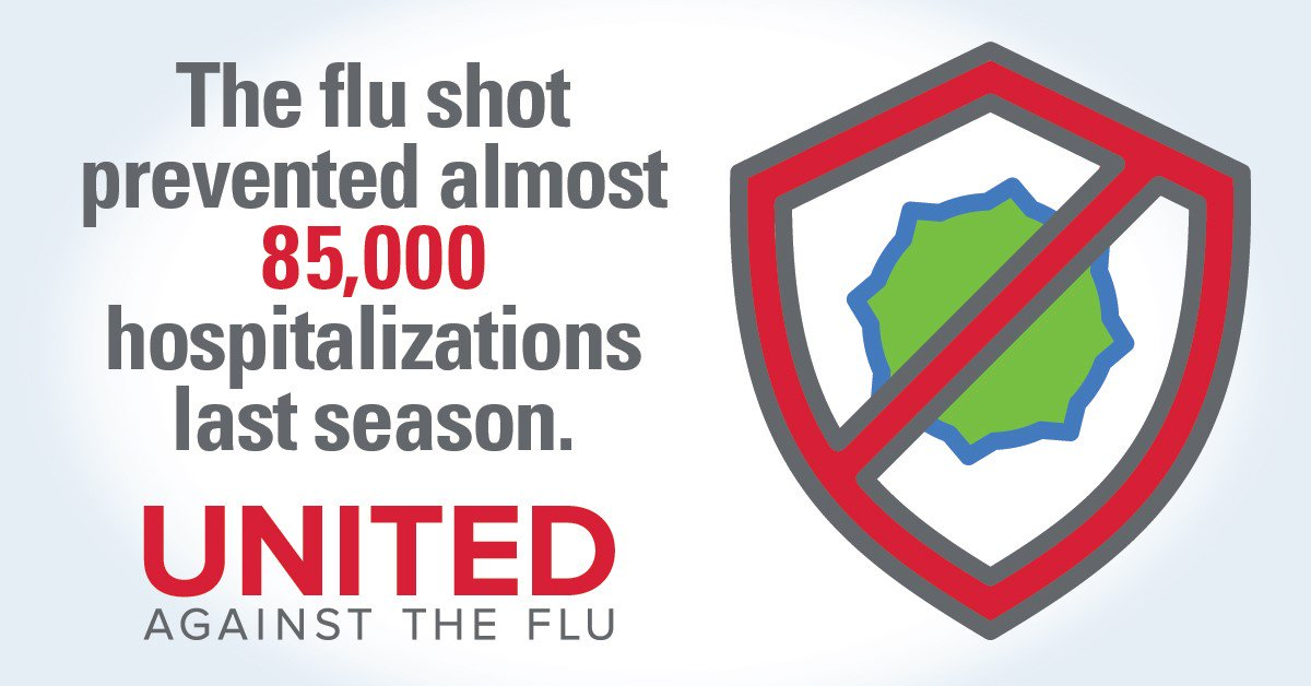It's important to get vaccinated every year to protect against the flu, which can change with each season. Keep yourself and those around you healthy and get the #flu shot today. Learn more: http://www.aha.org/ahiaflu #UnitedAgainstFlu