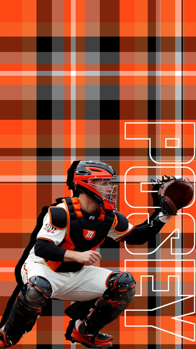 New (plaid!) wallpapers are in. You're welcome for the upgrade.   #WallpaperWednesday | #SFGiants