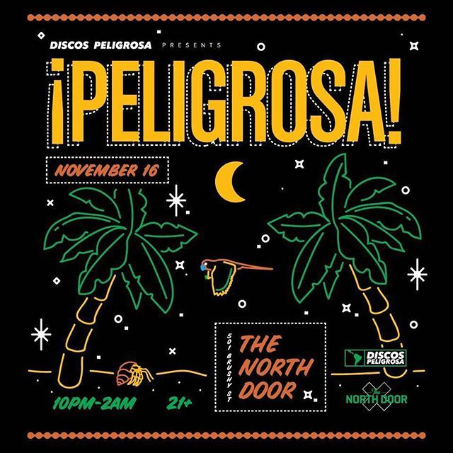 We got some Perreo to keep your 's warm...this Friday pull up to @_peligrosa at the @thenorthdoor #BienLit pic.twitter.com/bvZFdXppLx