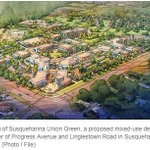 Image for the Tweet beginning: .@vartangroup's mixed-use project in Susquehanna