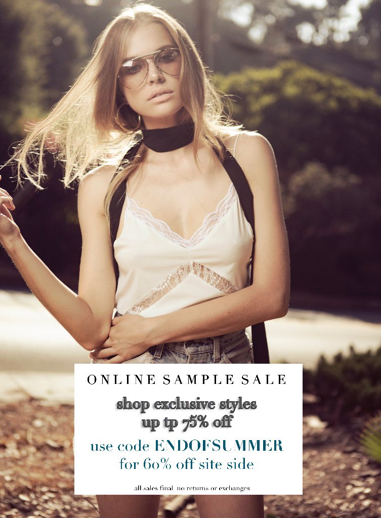 NEW ITEMS ADDED | Exclusive online SAMPLE SALE - https://t.co/9LsESPwbJ3 https://t.co/xu2TGaUkXt