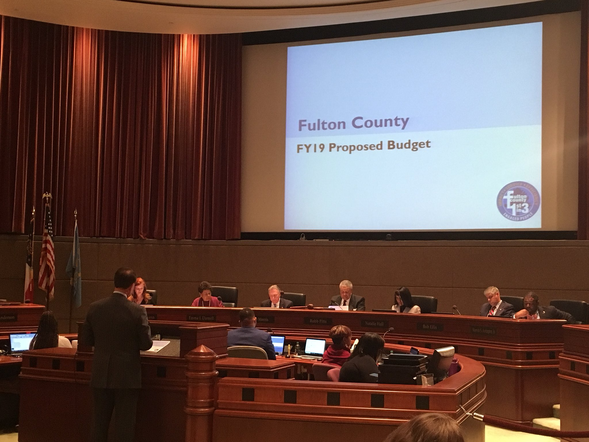 Board of Commissioners discuss a presentation of the FY2019 Proposed Operating Budget. Watch it live on @FGTV https://t.co/ANDHsfYErQ