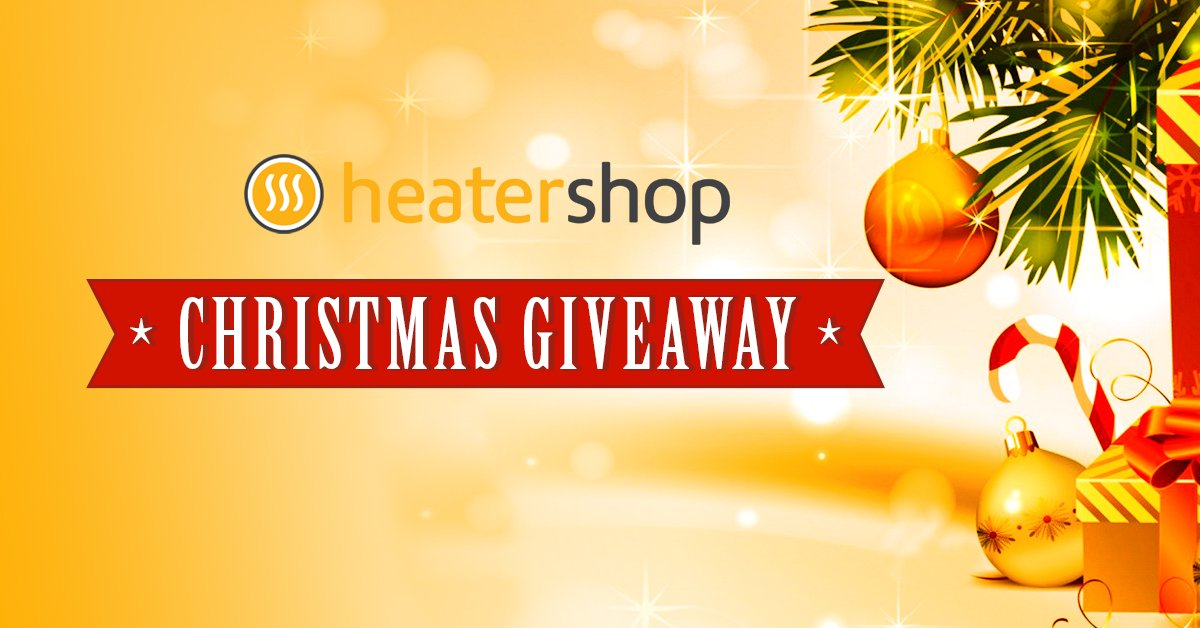 Win a £200 voucher to spend at #HeaterShop - Simply follow us and retweet this tweet to enter. Full details and T&#39;s &amp; C&#39;s can be found here  http:// bit.ly/2RRIn4L  &nbsp;   #inittowinit #giveaway #competition #liketowin #winwednesday #contest #Christmas #ChristmasMustHaves<br>http://pic.twitter.com/xqOwnqzbqC