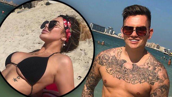 ��@Chloe_GShore is looking unreal in a bikini on surprise Dubai trip with @SamGowland123>>> https://t.co/4UOm484ayY https://t.co/iKgU5ealxB