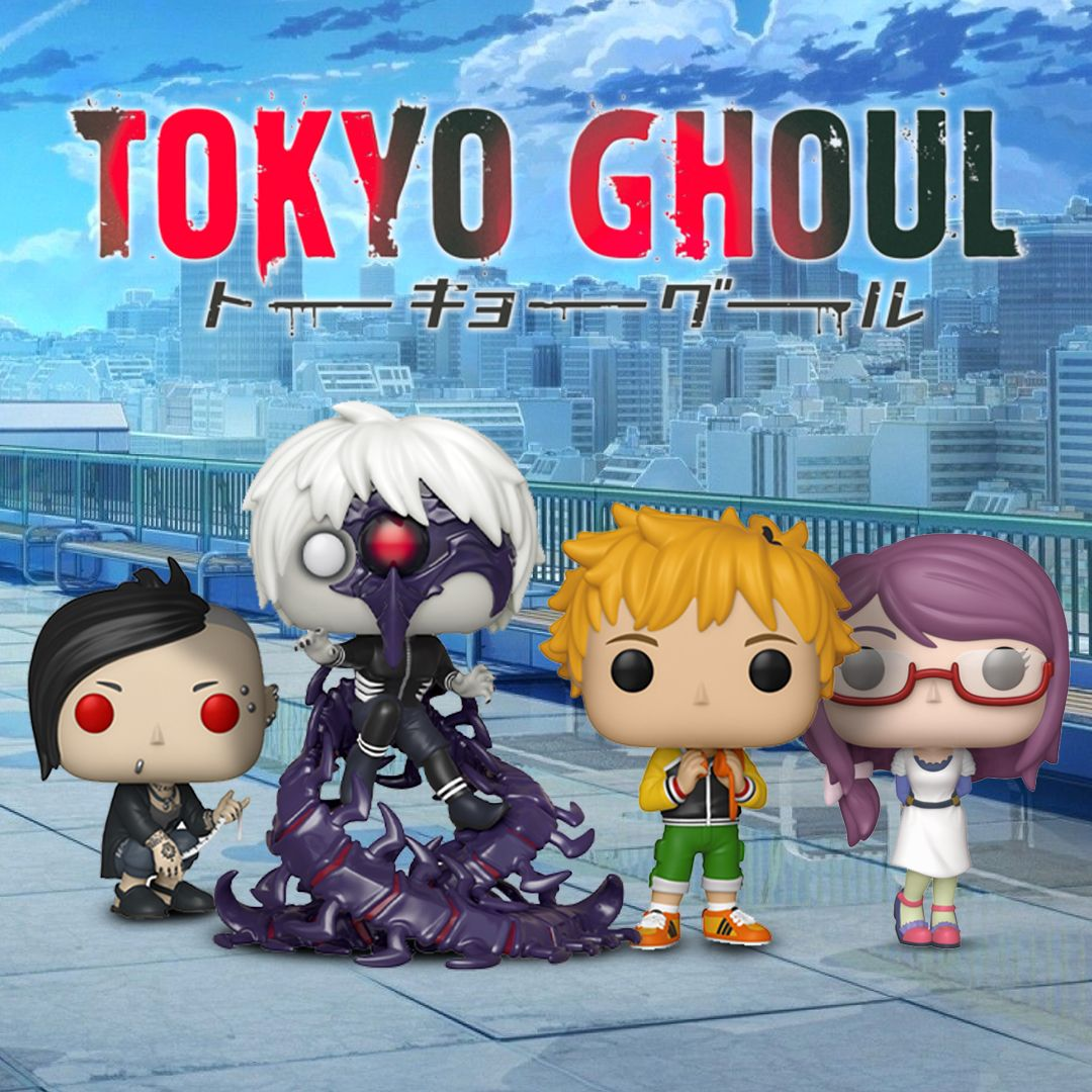 Tokyo Ghoul Funko POP Half-Kakuja Kaneki Vinyl