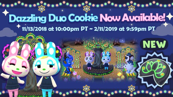 Ooh, it&#39;s so shiny! The dazzling duo cookie is now available in the Fortune Cookie Shop! The sparkling items in this cookie will light up the night sky. Now I can&#39;t wait for it to get dark out!<br>http://pic.twitter.com/4wWmtLO8RG
