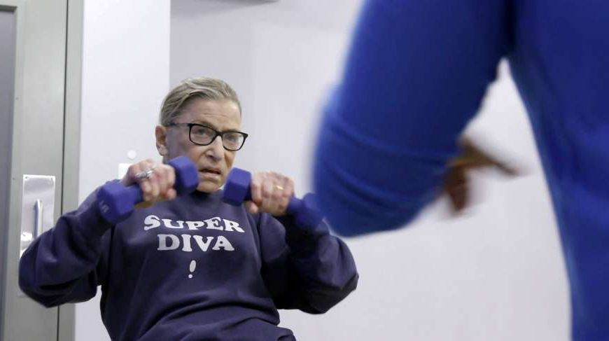 Ruth Bader Ginsburg will be back in the gym next week, her trainer says https://t.co/yvKyBsMvFY