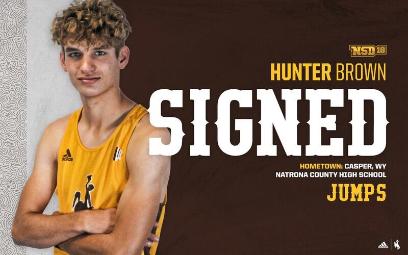 Welcome to the Cowboy family Hunter Brown! #OneWyoming #GoWyo