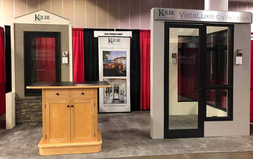 kolbe and kolbe windows foldable be encompassed by kolbes vistaluxe windows and doors the event is happening at the minneapolis convention center hall d we hope youll join us kolbe windows kolbewindows twitter