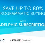 With #Adelphic's new monthly subscription pricing, gone are the days of percent-of-spend pricing. Learn more about how #Adelphic is helping #marketers put more ad budget into working media: https://t.co/YxN3CpxqAM