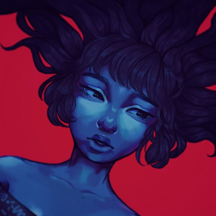 Sorry I have posted in a bit I've been sick this is an old painting I forgot to post  #digitalart #painting #CLIPSTUDIOPAINT <br>http://pic.twitter.com/sIhLlgjE7C