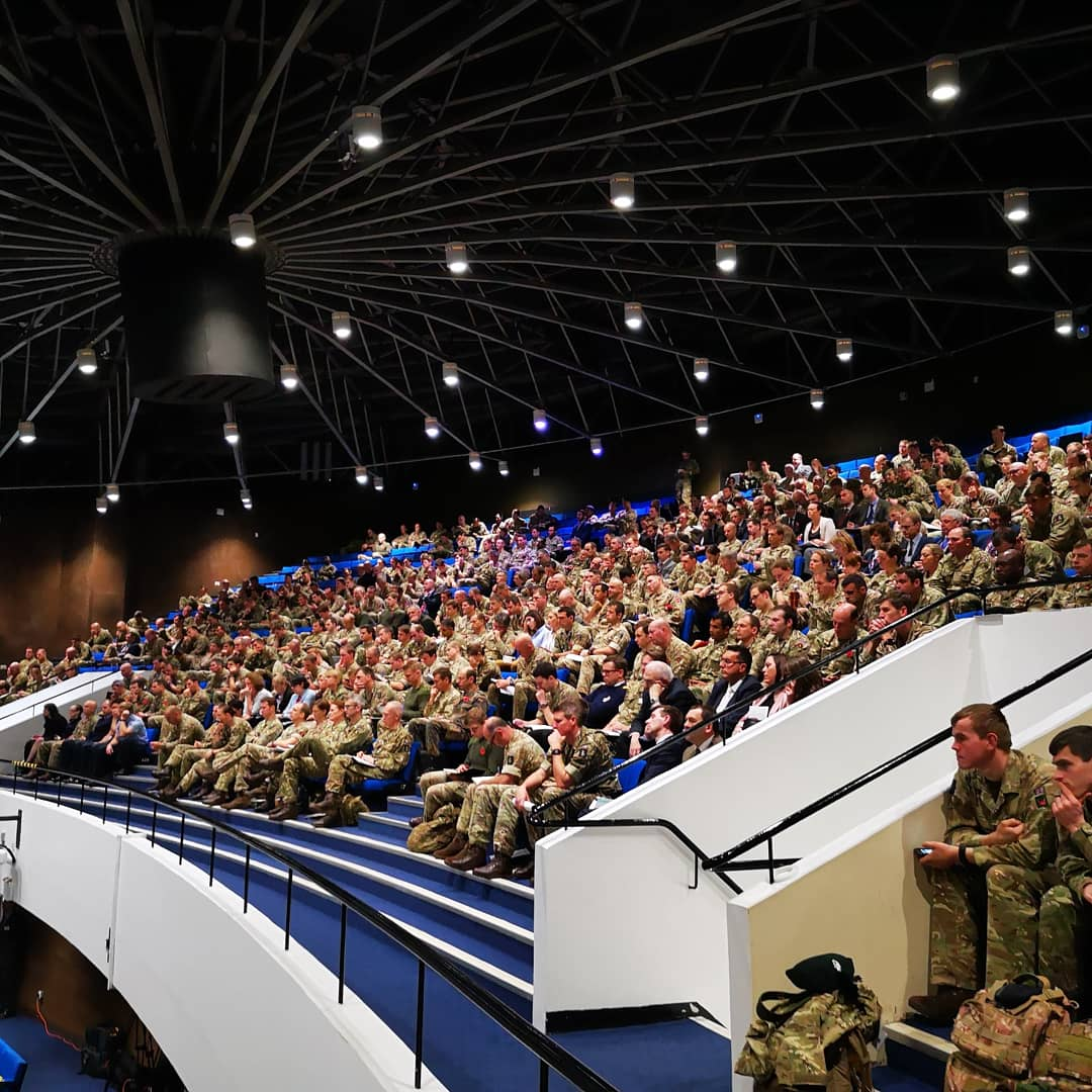 We had a fantastic turn out at the Army Leadership Conference last week. #leadership #conference @mil_LEADER