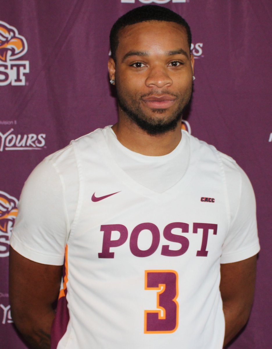 CONGRATS to Tyshon Rogers on being named CACC MBB Player of the Week!   The Waterbury native averaged 24 ppg, 4 rpg and 3.5 apg in two games. He racked up high scoring numbers while remaining efficient, shooting 58% from the field, 50% from 3 and 85% on FT&#39;s <br>http://pic.twitter.com/A9kRhj9swg