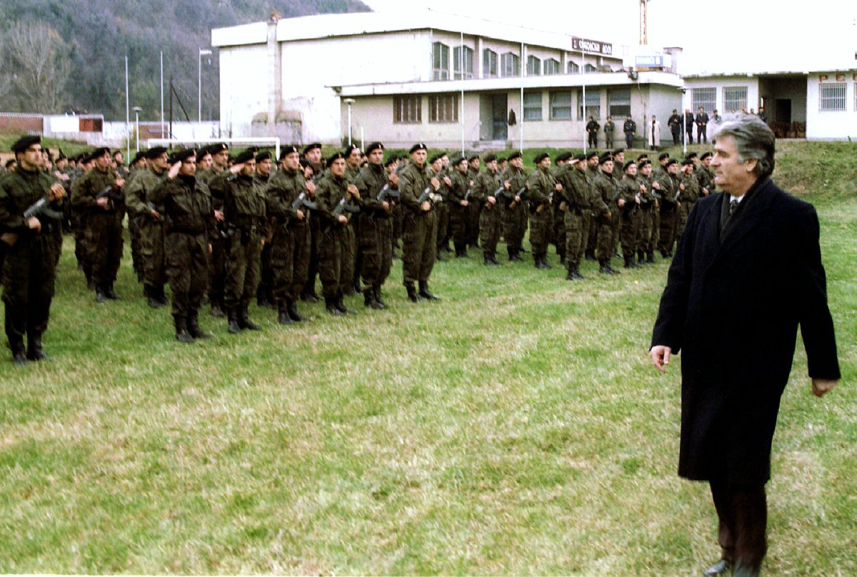 .@Reuters Today in History: 1995 - A U.N. tribunal charged Bosnian Serb leader Radovan Karadzic and his military commander Ratko Mladic with genocide. #ReutersArchive