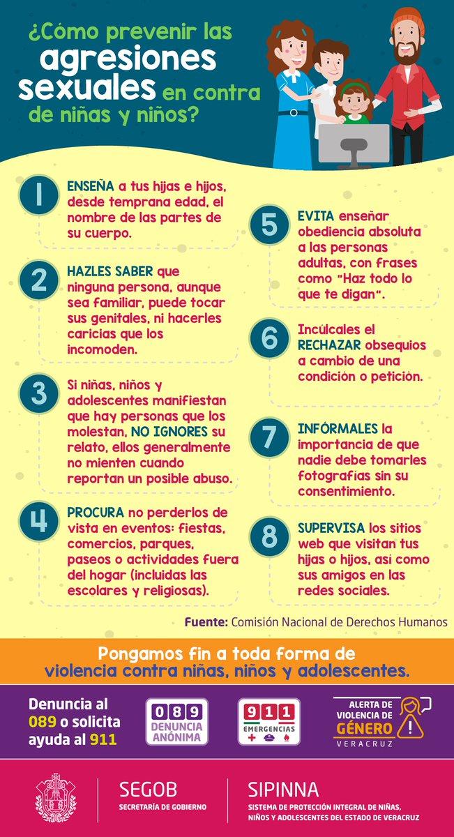 Ssp Veracruz På Twitter Cómo Prevenir Las Agresiones