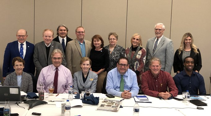 RT @ChancellorKoch: I was pleased to attend the @UISedu Alumni Board meeting & provide a campus update. Always happy to welcome @UISeduAlum…