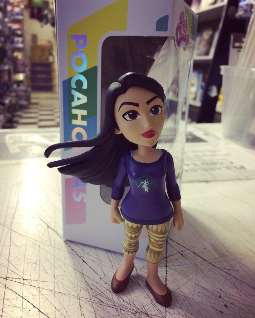 Funko Figure Wreck it Ralph 2 Comfy Pocahontas NYCC 2018 Exclusive Rock Candy