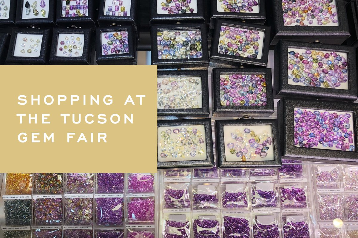 See some of the treasures found at the Tucson Gem Fair