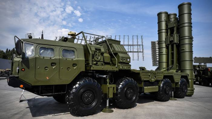Russia is doing a roaring trade in what military experts consider the world's most advanced air defence system. Turkey and India have signed deals to buy S-400s, China has received its first deliveries and Saudi Arabia, Qatar and Iraq are in negotiations. https://t.co/K77jhxpAzW