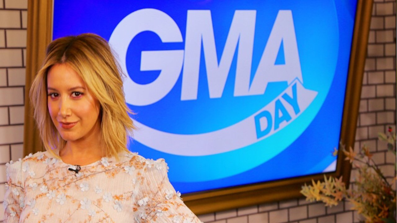 COMING UP ON #GMADAY with  @sarahaines and @michaelstrahan: @ashleytisdale is in Times Square! Tune in at 1pET! https://t.co/LKh6gXYgzP