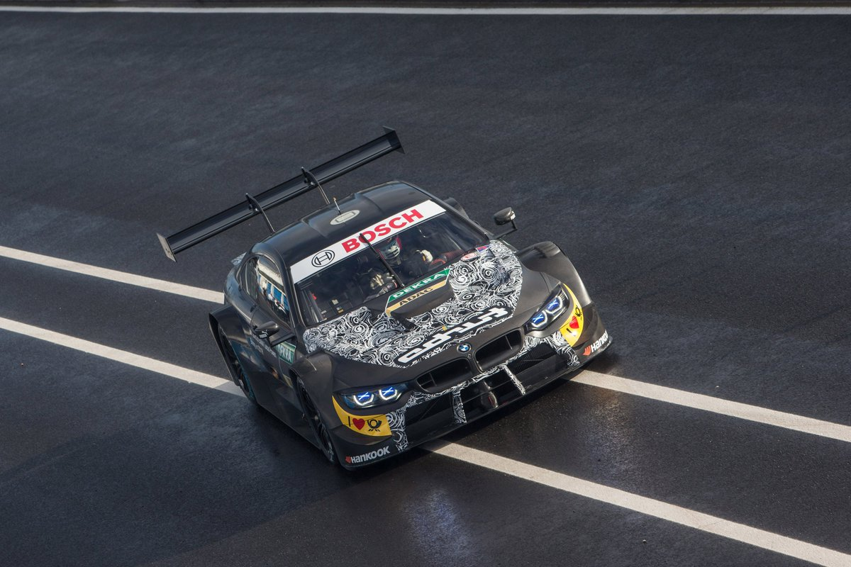 Bmw Motorsport On Twitter First Day On The Race Track The New