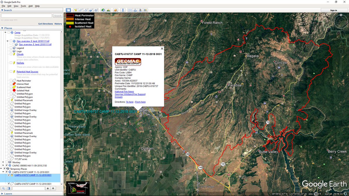 Dave Toussaint On Twitter Campfire Updated Perimeter Map From