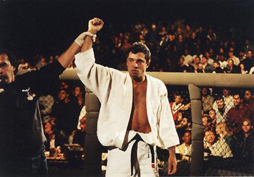 Royce Gracie entered the Octagon, & used his Brazilian Jiu Jitsu to dismantle everyone. He showed the world that technique always wins. The UFC was born.