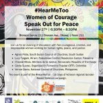 Image for the Tweet beginning: KAIROS invites you to #HearMeToo