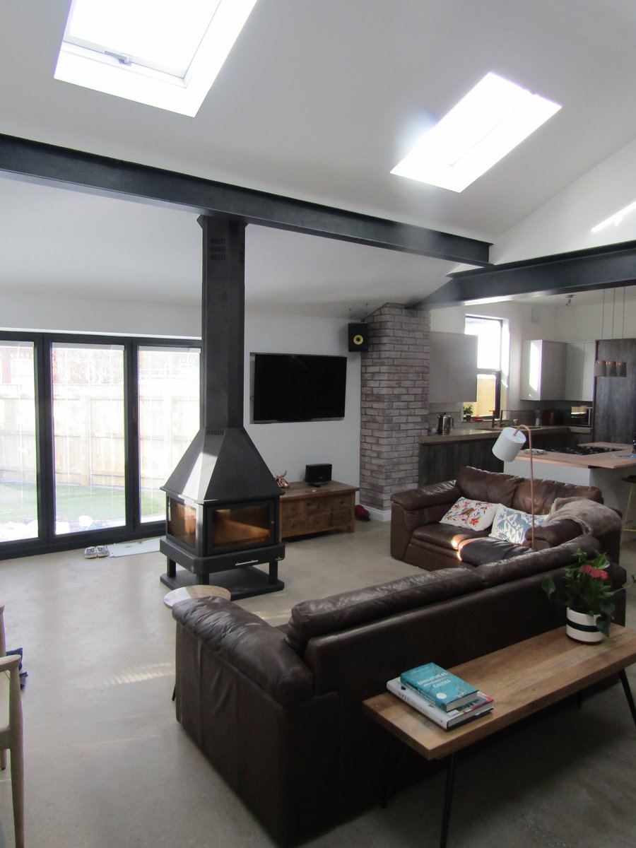test Twitter Media - Another quality extension completed with a contemporary theme including concrete floor and exposed steel beams. For a no obligation quotation for your house extension- call us on 01704 562675. https://t.co/PAuPUm5NJK