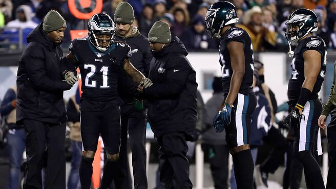 Ronald Darby has a torn ACL  Season is over. Damn another injury  Eagles will go to New Orleans  shorthanded in secondary 😬