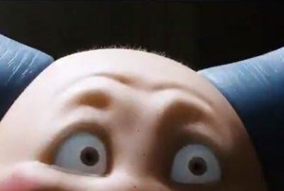ポケモン映画、バリヤードの頭のうぶ毛が絶妙に怖い