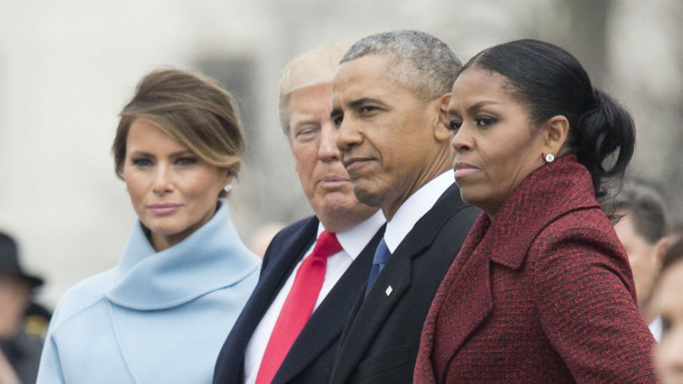 Michelle Obama: 'I stopped even trying to smile' during Trump's inauguration https://t.co/Lk2M36dymx