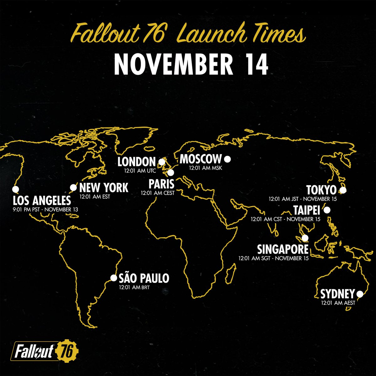 Fallout on Twitter: