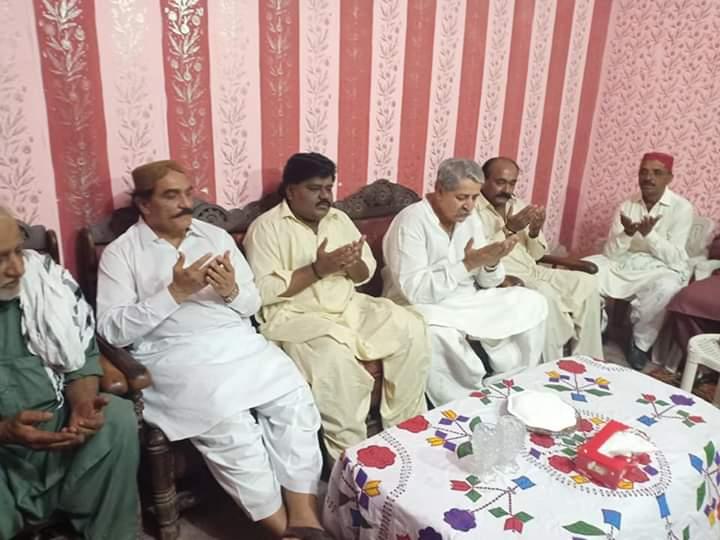 Honourable MNA #NA228 Syed Naveed Qamar Shah, MPA #PS68 Syed Aijaz