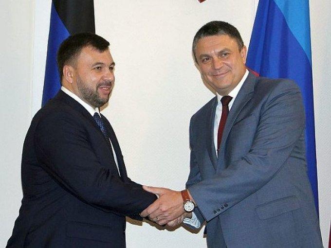 В ДНР и ЛНР выбрали глав республик Фото