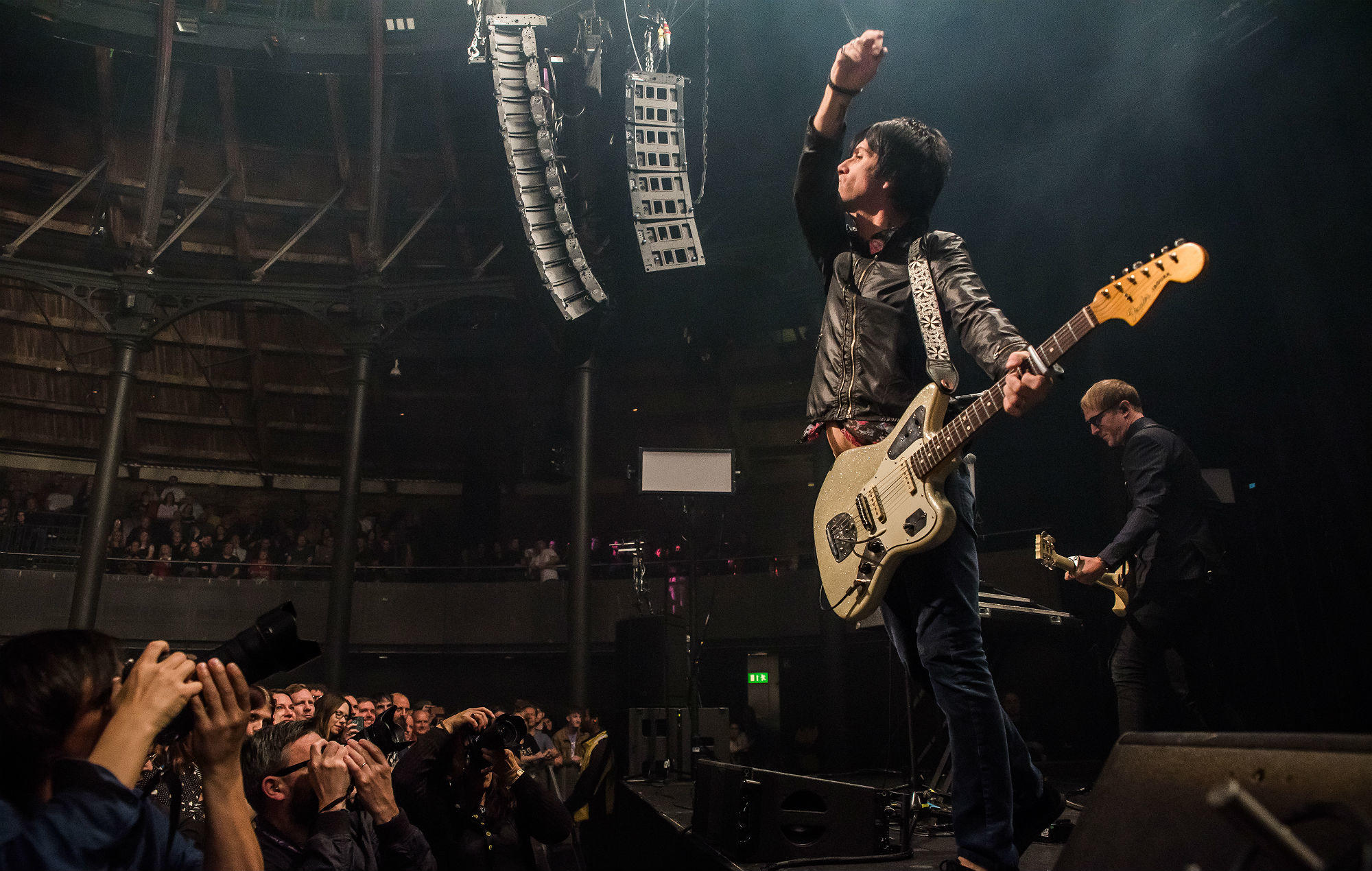 Johnny Marr and The The's Matt Johnson perform on stage for first time in 25 years in London https://t.co/e0BGZoCYuf https://t.co/wMOuW7CR05