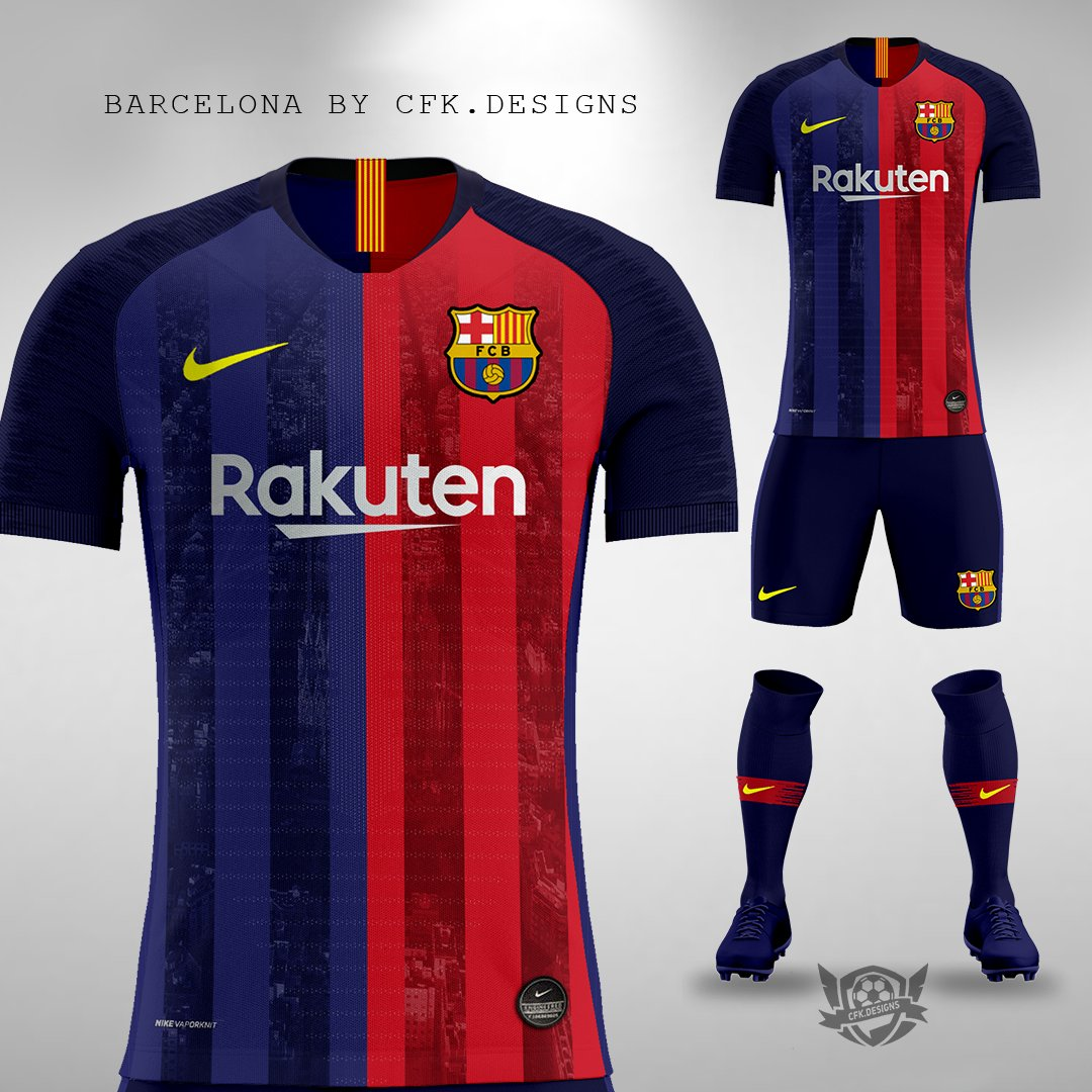 148baacf25d Nike FC Barcelona Aeroswift Total 90 Concept Kits by ozando - Footy ...  Cfk.designs