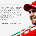 Get the thoughts of #Seb5 after a solid drive at the #BrazilGP #ForzaFerrari