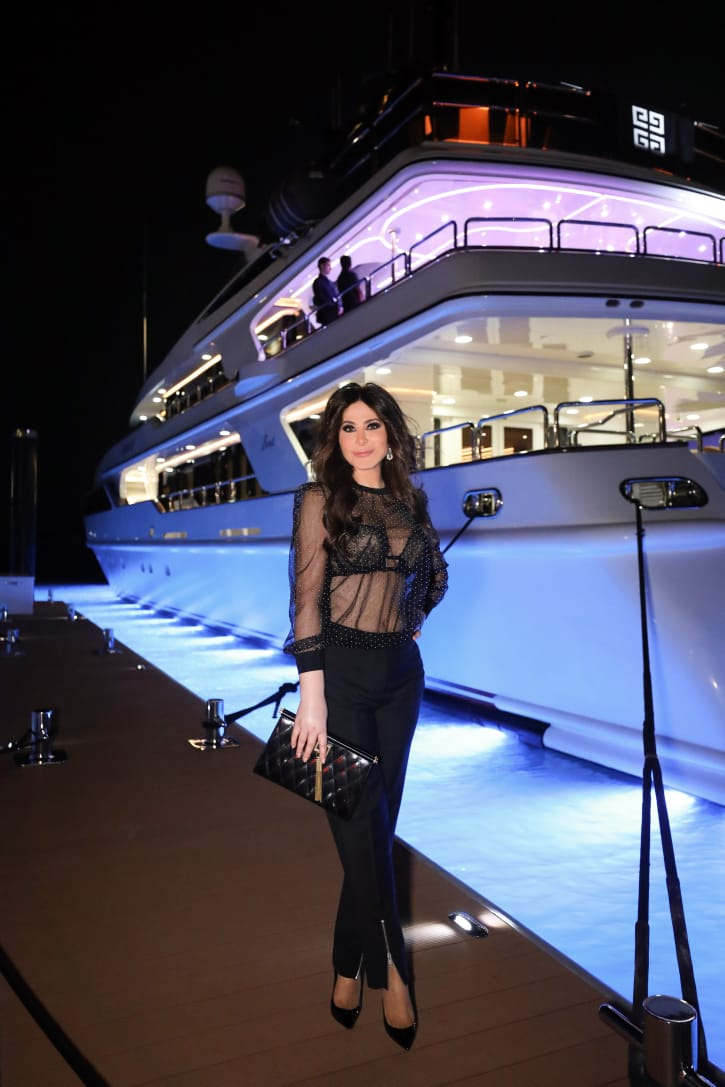 Thank you @DerianMaya @givenchy for the lovely evening #dubai #uae