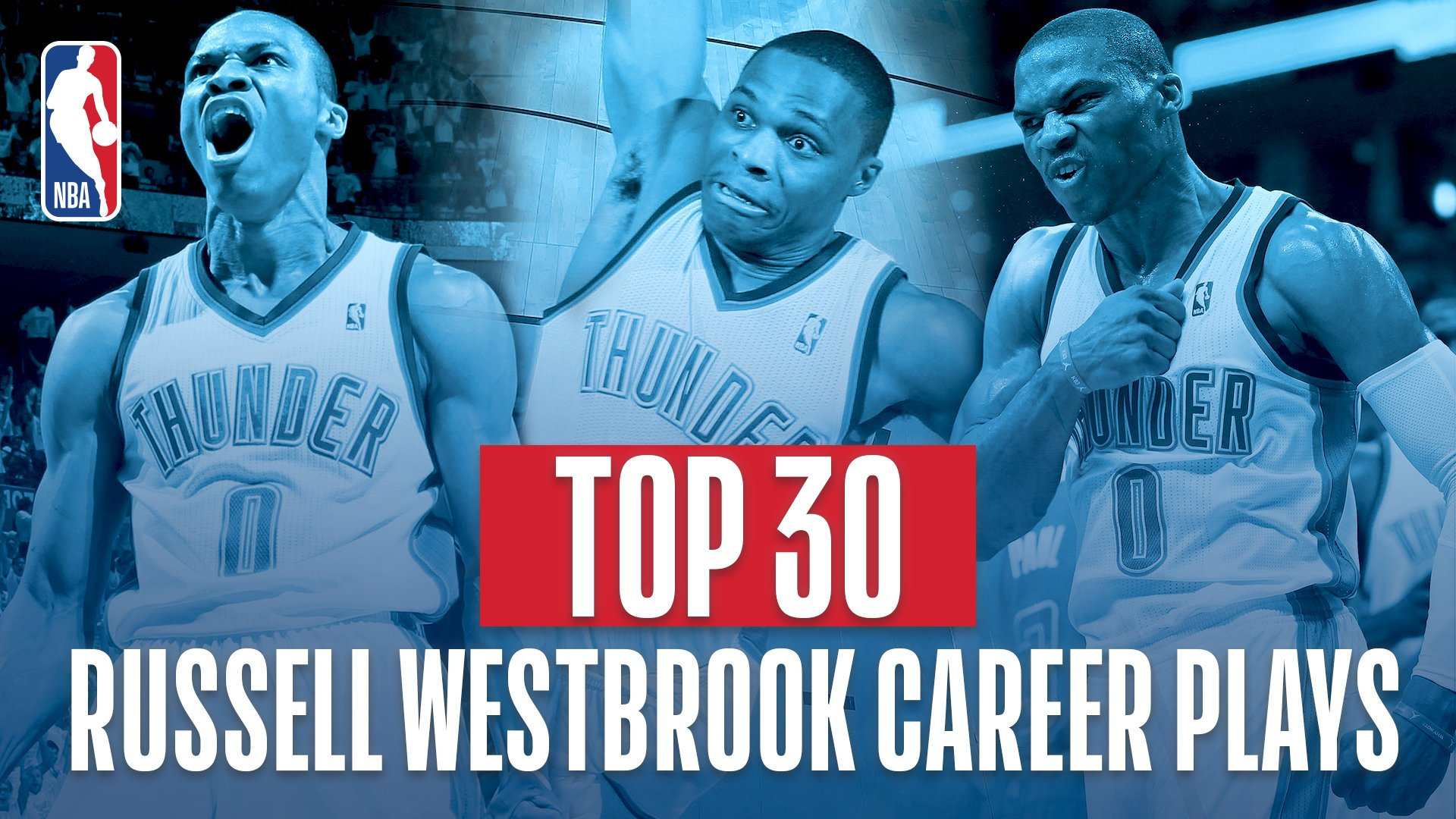 To celebrate his 30th birthday, we count down the 30 BEST plays from @russwest44 throughout his career!   30-25. https://t.co/l4kqiUHsdw